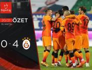 Galatasaray 3-4 Çaykur Rizespor | MAÇ SONUCU.