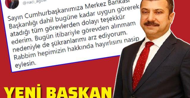 Ağbal görevden alındı. Yerine Prof. Dr. Şahap Kavcıoğlu getirildi » Vatan  Haberleri