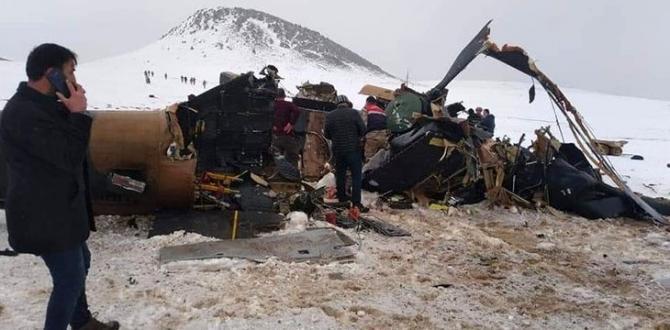 Helikopter kazasıyla ilgili ilk uzman yorumu: Sabotaj yok, pilot inmeye çalışmış