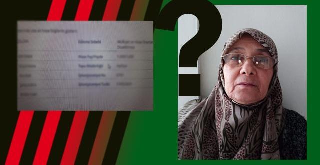 Urfa'da Yaşlı Kadından Şok Tapu İddiası