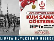 """11 Nisan Urfa'nın Kurtuluş Günleri"""" Etkinlikleri Dolu Dolu Geçecek"""