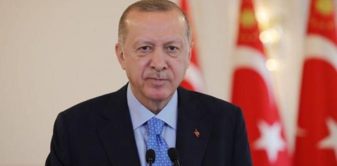 Erdoğan, 23 Nisan Ulusal Egemenlik ve Çocuk Bayramı dolayısıyla bir mesaj yayımladı