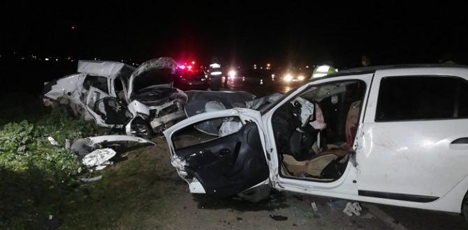 Şanlıurfa'da Korkunç Kaza 5 Ölü 1 Yaralı