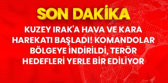 Terör örgütü PKK'ya ait hedefler bir bir vuruluyor