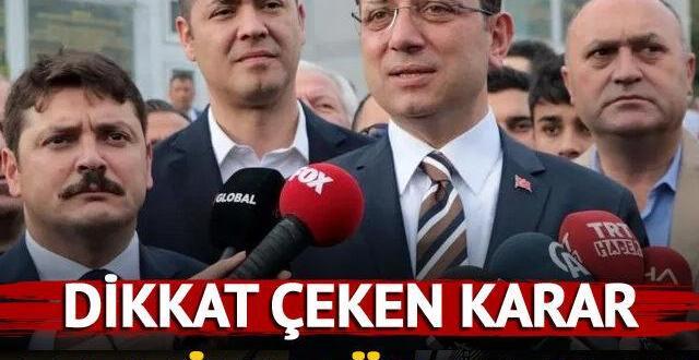 İmamoğlu, eski Ordu Valisi Seddar Yavuz'a tazminat ödeyecek