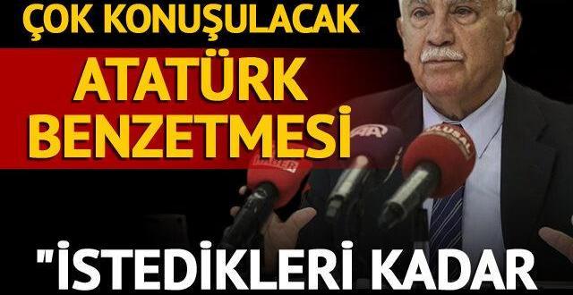 Perinçek'ten Taliban için çok konuşulacak Atatürk benzetmesi