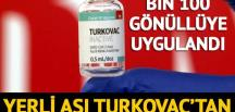 Yerli aşı TURKOVAC'tan sevindiren haber!