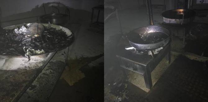 Urfa'da Hastane Yemekhanesinde Yangın Çıktı