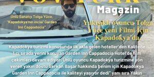 """Ünlü Sanatçı Tolga Yüce, """"Kapadokya'nın incisi' Garden Inn Cappadocia"""